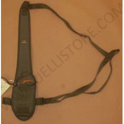 PortaGps con tracolla monospalla Riserva verde e arancio mod. CL2078312