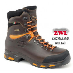 Scarpone alto Zamberlan marrone e arancio alta visibilità mod. 1003JACKRABBIT TOP GTX
