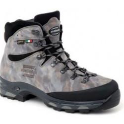 Scarpone medio Zamberlan grigio camouflage e nero mod. 1016 LION GTX RR WL
