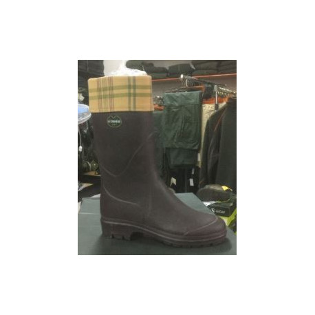 negozio online 03c14 67901 Stivali da donna Le Chameau marroni mod. Clan - Armeria Metelli