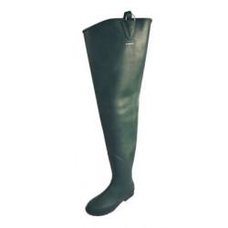Stivali a tutta coscia  Le Chameau verdi  mod. Delta Limaille