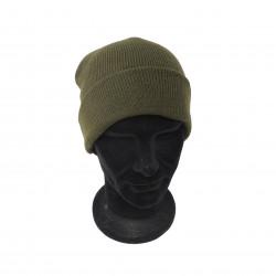 Cappello a cuffia Faustmann in cotone  verde mod. 38016