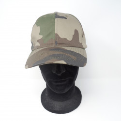 Cappello C.G.M con visiera verde effetto mimetico mod. 3413