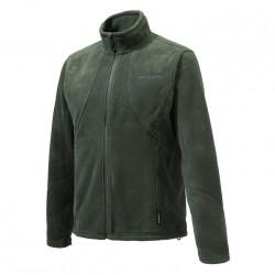 Felpa Beretta Pile Polartec mod.P3171 T0654 0715 VERDE Acvtive Track Jacket