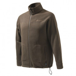 Felpa Beretta Pile Polartec mod.P3371 T1620 080X B-Active Sweater Chocolate Marrone