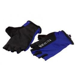 Guanti Beretta blu mod.GL510 00351 0504 Fingerless Gloves Blue