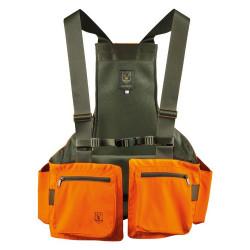 Trisacca arancio ad alta visibilità Riserva mod. R2064
