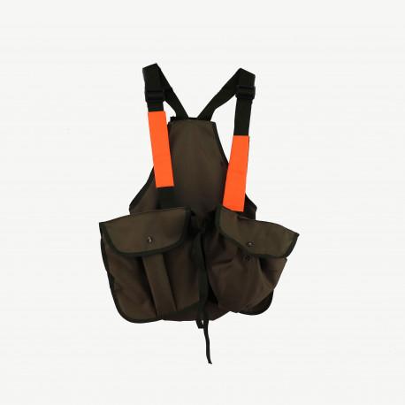 Trisacca CBC verde e arancio ad alta visibilità mod.TR010101