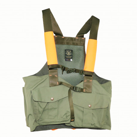 Trisacca verde e arancio alta visibilità Riserva mod. R1183
