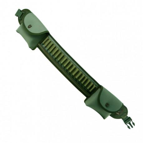 Cartuccera carabina Riserva multicalibro verde mod. R1289