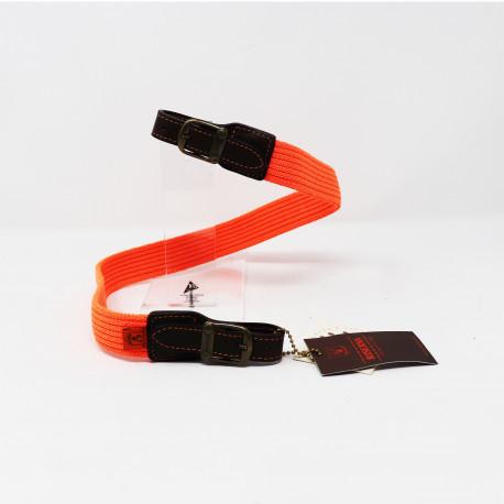 Tracolla  Riserva per fucile colore arancio elasticizzata