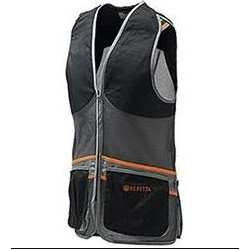 Gilet da tiro Full Mesh Black Gray art.GT671T15530903