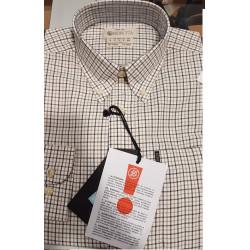 Camicia Beretta a fantasia multicolore mod. LU210 T1645 0185 BERETTA Button Down Shirt