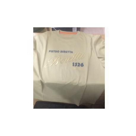 T-shirt  Beretta beige art. RN103833 CA38687B