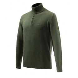Felpa Lana Beretta verde scuro mod. PU561T19990715