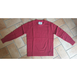Maglione rosso Beretta  mod. PU551T19990037 Devon Crewneck Sweater Dark Red.