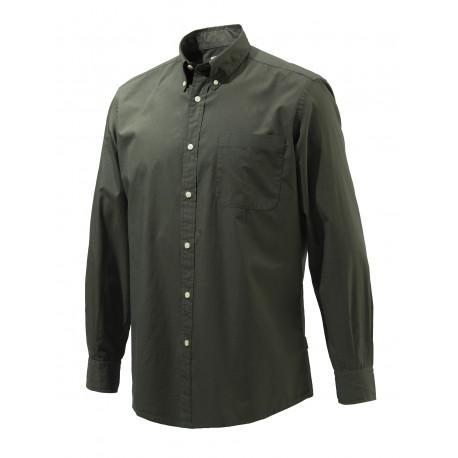 Camicia Beretta 4 stagioni in cotone mod.LU641T1535 colore verde