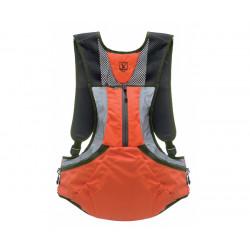 Gilet Riserva colore Arancio alta visibilità / Verde mod. R2271