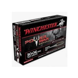 Cartuccia a palla Winchester per carabina cal. 30-06 SPRG ogiva Power Max Bonded