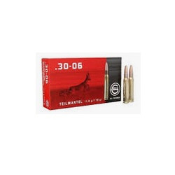 Cartuccia a palla Geco per carabina cal. 30-06 ogiva Softpoint Bullet