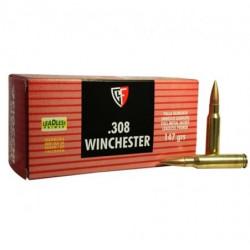 Cartuccia a palla Fiocchi per carabina cal. 223 remington con ogiva blindata