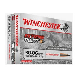 Cartuccia a palla Winchester per carabina cal. 30-06 SPRG ogiva Extreme Point