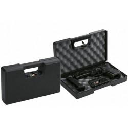Valigetta per oggetti di valore Negrini mod. 2014CU realizzata in plastica in colore nero