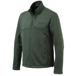 Felpa Beretta Pile Polartec mod.P3121 T0657 0715 VERDE Static Fleece Jacket