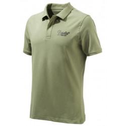 Polo Beretta art.MP012 07207 078K VERDE Corporate Polo Army Green