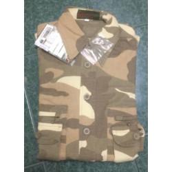 Camicia da caccia per bambini nella versione mimetica sabbia mod. 9441