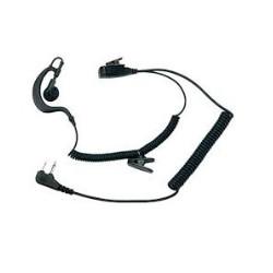 Microfono auricolare con PTT Midland A21M nero mod. C858
