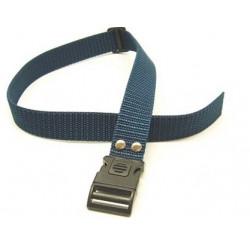 Collare per cane in nylon blu di ricambio per canicalm mod. COL050505