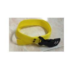 Collare per cane in nylon giallo di ricambio per canicalm mod. COL070707
