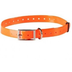 Collare per cane NUMaxes arancione ad alta visibilità mod. COL030303