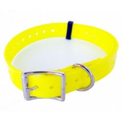 Collare per cane NUMaxes giallo ad alta visibilità mod. COL020202