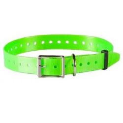 Collare per cane NUMaxes verde ad alta visibilità mod. COL010101