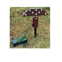 Richiamo peppola con testa in legno art. 61295