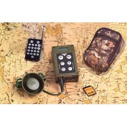 Plurifon Riproduttore Audio Digitale Mini-RDP 2 Mixer con telecomando e card 10 canti inclusa