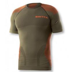 T-Shirt tecnica intima Biotex verde mod. Light touch a manica corta