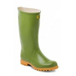 Stivali al ginocchio in gomma Trento verde