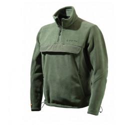 Felpa Beretta Pile mod.P3300 05240 0707 VERDE Binocular Fleece