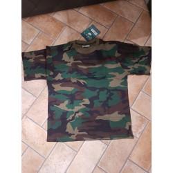 T-shirt  Univers marrone mimetica art. 94000 38